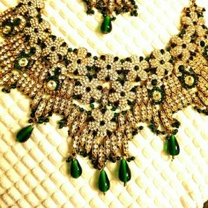 Indian necklace and tikka